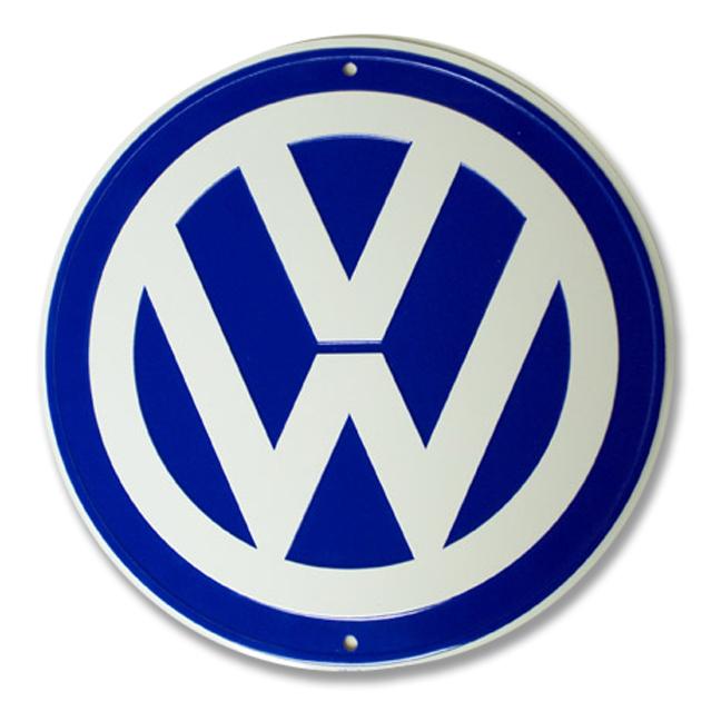 Vw vw logo garage sign garitto for Garage volkswagen 33