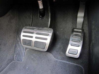 画像2: OSIR ペダルカバー RHD for Audi A4(8K)/A5/Q5 (O-Paddles B8 Auto)