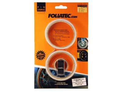 画像1: FOLIATEC ピンストライプリムテープ ホワイト