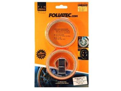 画像1: FOLIATEC ピンストライプリムテープ オレンジ