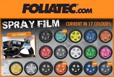 画像2: FOLIATEC スプレーフィルム マットオレンジ (SPRAY FILM -Matt Orange-)