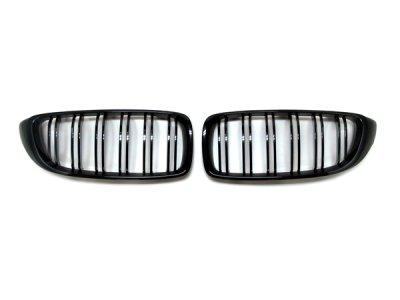 画像1: BMW M-Look フロントグリル (グロスブラック) for F32/F33/F36 (4シリーズ)