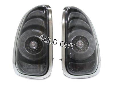 画像1: MINI R60 LEDテールレンズ T-2 (ブラック/スモーク)
