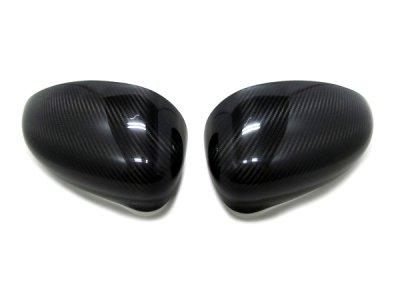 画像1: OMTEC カーボンドアミラーカバー for FIAT500/ABARTH500/ALFA 4C