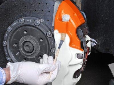 画像3: FOLIATEC ブレーキキャリパーラッカー NEONオレンジ