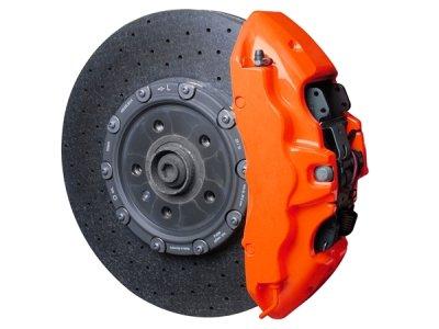 画像2: FOLIATEC ブレーキキャリパーラッカー NEONオレンジ
