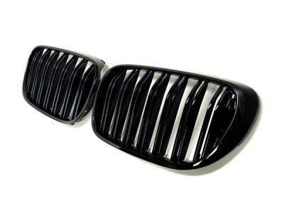 画像3: BMW M-Look フロントグリル (グロスブラック) for G11/G12