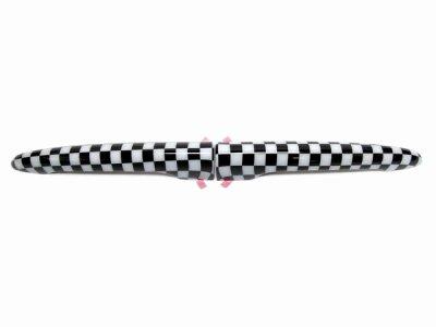画像1: MINI リアドアハンドルカバー 2pcs (チェッカー) for R55 Clubman