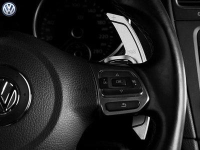 画像3: PD アルミパドルシフター for VW Golf6 GTI/R (レッド)