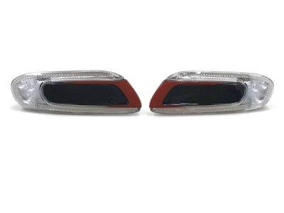 画像1: MINI F5x LEDサイドウインカー (レッド/ブラック)