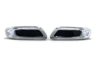 画像1: MINI F5x LEDサイドウインカー (クローム/ブラック)