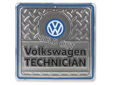 画像1: VW ガレージサイン Volkswagen TECHNICIAN