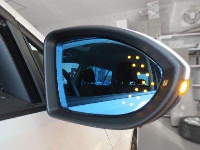 画像5: AutoStyle ワイドビュードアミラーレンズ with LEDターンシグナル FIAT/ABART500 / Grande PUNTO