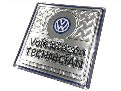 画像2: VW ガレージサイン Volkswagen TECHNICIAN