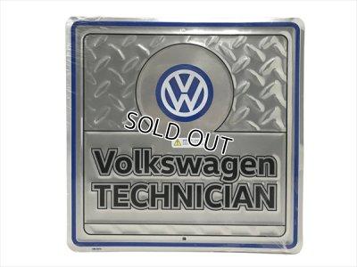 画像3: VW ガレージサイン Volkswagen TECHNICIAN