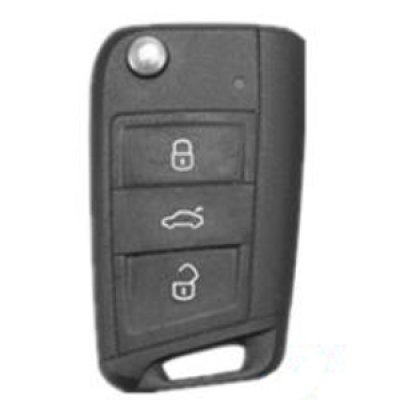画像2: AutoStyle シリコンキーカバー カーボンルック VW GOLF7.5 GOLF7 Touran(5T) POLO(6C) Tiguan AD1