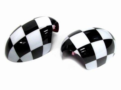 画像3: AutoStyle MINI ドアミラーカバー チェッカー for R55/R56/R57/R60