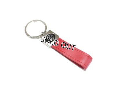 画像1: VW レザーキーホルダー #049 RED