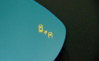 画像1: AutoStyle ワイドビュードアミラーレンズ with BMS(ブラインドスポットデティクション) VW Golf7.5/7 , Golf7.5/7 Variant