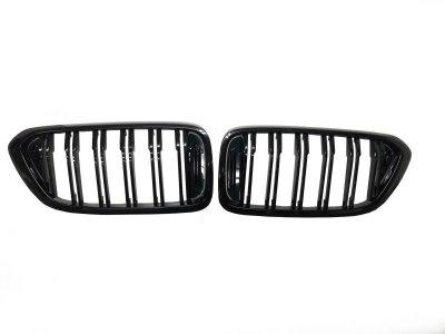 画像1: BMW M-Look フロントグリル (グロスブラック) for G32