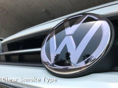 画像1: core OBJ  Front Emblem Protector Clear SmokeType
