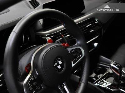 画像2: AUTOTECKNIC ドライカーボンパドルシフト レッドインジゲータ for BMW G20/G30
