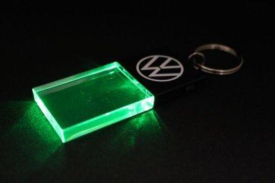 画像1: VW LEDキーチェン #056 ネオングリーン