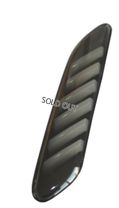 画像2: LEDシーケンシャルサイドウインカーレンズ (インナーブラック) for MINI R60/R61