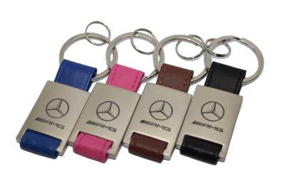 画像2: MercedesBenz レザーキーホルダー KRR for スターマーク/AMG