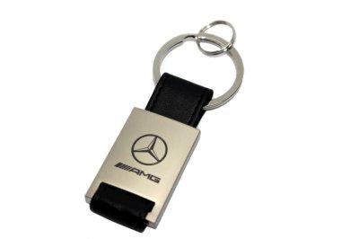画像1: MercedesBenz レザーキーホルダー KRR for スターマーク/AMG