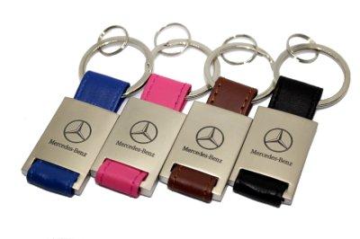 画像2: MercedesBenz レザーキーホルダー KRR for スターマーク/MercedesBenz