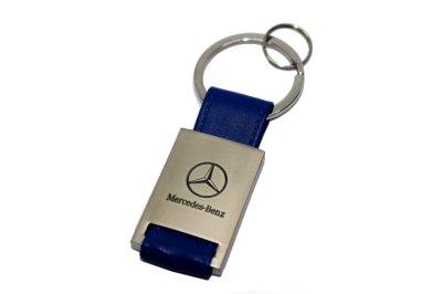 画像1: MercedesBenz レザーキーホルダー KRR for スターマーク/MercedesBenz