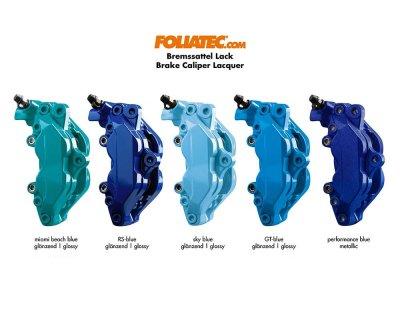 画像3: FOLIATEC ブレーキキャリパーラッカー マイアミビーチブルー(Brake Caliper Lacquer Miami Beach Blue )