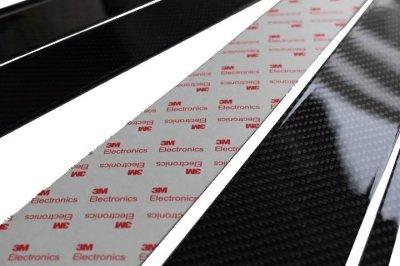 画像3: AutoStyle ブラックカーボンピラーパネル 6pcs VW T-CROSS