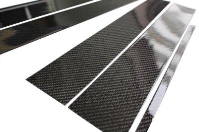 画像2: AutoStyle ブラックカーボンピラーパネル 6pcs VW T-CROSS