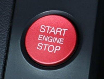 画像4: Autostyle AUDI Start/Stop Button/Ring RED