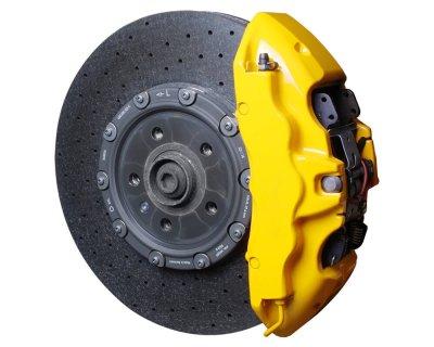 画像1: FOLIATEC ブレーキキャリパーラッカー イエロー(Brake Caliper Lacquer Yellow)