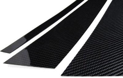 画像2: ブラックカーボンピラーパネル 8pcs BMW F40